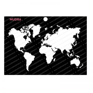 Craft Stencils - Map 6x4 - Mudra