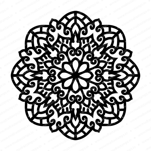 Craft Stencils - Mandala 6x6 - Mudra