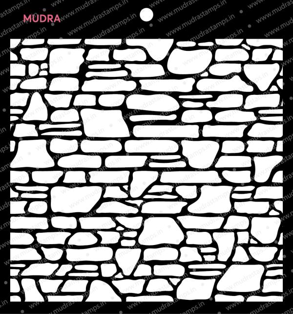 Craft Stencils - Brick 6x6 - Mudra