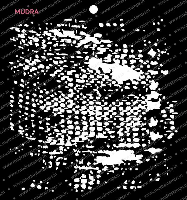 Craft Stencils - Grunge Fx 6x6 - Mudra