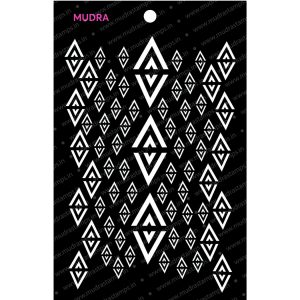 Craft Stencils - Diamond Deco 6x4 - Mudra