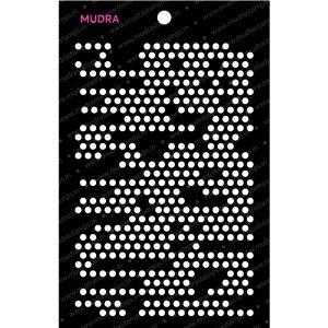 Craft Stencils - Memory Dots 6x4 - Mudra