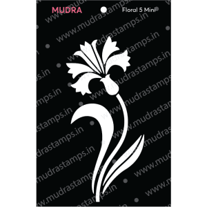 Craft Stencils - Floral Mini 5 3x4 - Mudra