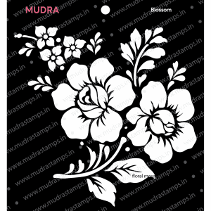 Craft Stencils - Blossom 6x6 - Mudra