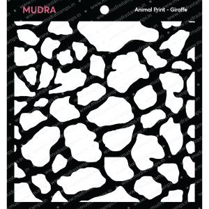 Craft Stencils - Girafee 6x6 - Mudra