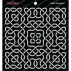 Craft Stencils - Celtic Ornament 6x6 - Mudra