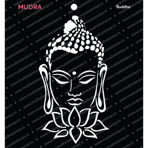 Craft Stencils - Buddha 6x6 - Mudra