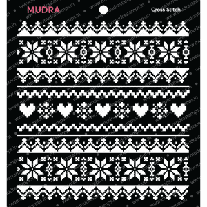 Craft Stencils - Cross Stich 6x6 - Mudra
