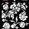 Craft Stencils - Floral Fantasy 6x6 - Mudra