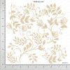 Chipzeb - Wildfloral Scroll - designer chipboard laser cut embellishment by Mudra