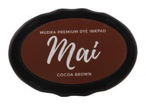 Stamping Dye Inkpad Mai - cocoa Brown - Mudra