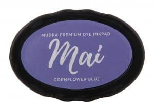 Stamping Dye Inkpad Mai - Cornflower Blue - Mudra