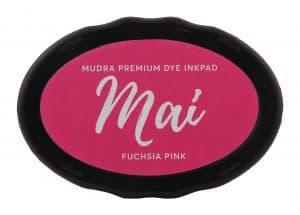 Stamping Dye Inkpad Mai - Fuchsia Pink - Mudra