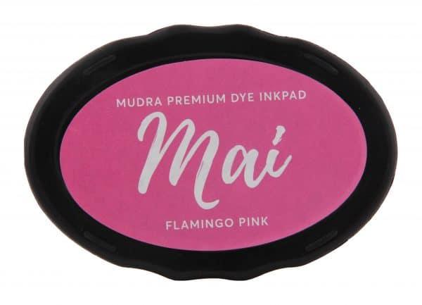 Stamping Dye Inkpad Mai - Flamingo Pink - Mudra