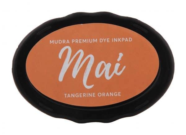 Stamping Dye Inkpad Mai - Tangerine Orange - Mudra