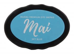 Stamping Dye Inkpad Mai - Sky Blue - Mudra