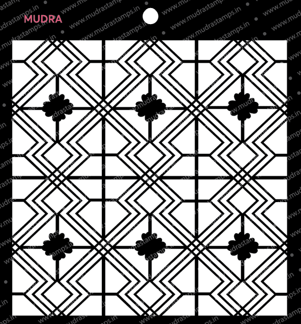 Craft Stencils - Deco Art fusion 6x6 - Mudra