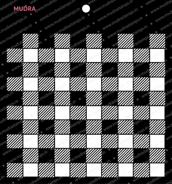 Craft Stencils - Plaid 6x6 - Mudra