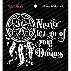 Craft Stencils - Dream Catcher 6x6 - Mudra