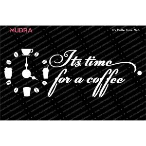 Craft Stencils - Its Coffee Time 9x6 - Mudra